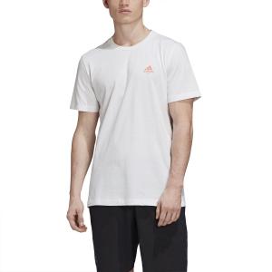 Camisetas de Tenis Hombre Adidas Padel Court Camiseta  White FM5575