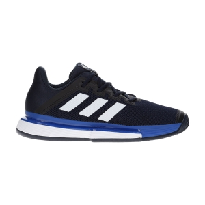 Men`s Tennis Shoes Adidas SoleMatch Bounce Clay  Legend Ink/Ftwr White/Team Royal Blue EG2219