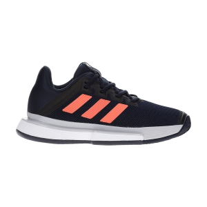 Women`s Tennis Shoes Adidas SoleMatch Bounce Clay  Legend Ink/Signal Coral/Grey Two F17 EG2220