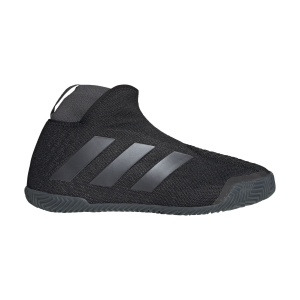 Women`s Tennis Shoes Adidas Stycon Clay  Core Black/Night Metallic/Grey Six FV2782