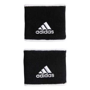 Tennis Head and Wristbands Adidas Small Wristbands  Black/White FK0912