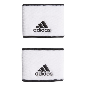 Tennis Head and Wristbands Adidas Small Wristbands  White/Black FK0911