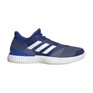 Men`s Tennis Shoes Adidas Adizero Ubersonic 3 Clay  Team Royal Blue/Ftwr White/Off White EH2872