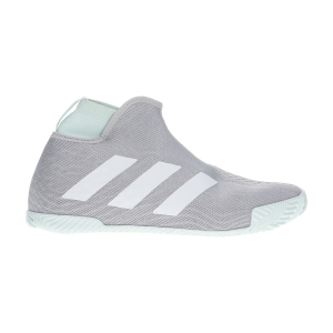 Men`s Tennis Shoes Adidas Stycon  Grey Two/Ftwr White/Dash Green EG2211