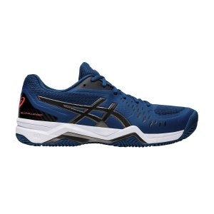 Men`s Tennis Shoes Asics Gel Challenger 12 Clay  Mako Blue/Gunmetal 1041A048402