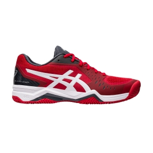 Men`s Tennis Shoes Asics Gel Challenger 12 Clay  Classic Red/White 1041A048603