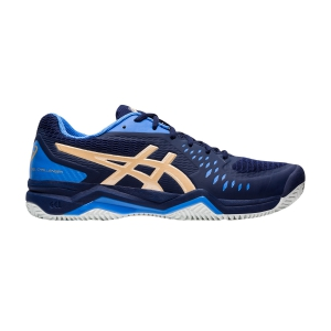 Men`s Tennis Shoes Asics Gel Challenger 12 Clay  Peacoat/Champagne 1041A048401
