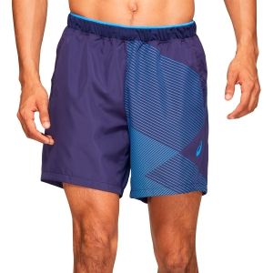 Pantalones Cortos Tenis Hombre Asics Club GPX 7in Shorts  Peacoat 2041A084401
