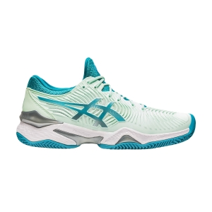 Women`s Tennis Shoes Asics Court FF 2 Clay  Bio Mint/Lagoon 1042A075300