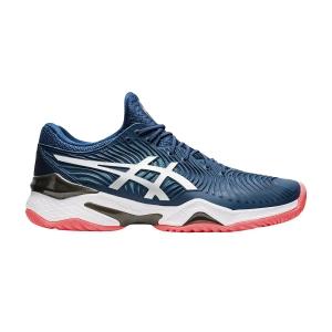 Calzado Tenis Hombre Asics Court FF 2  Mako Blue/White 1041A083400