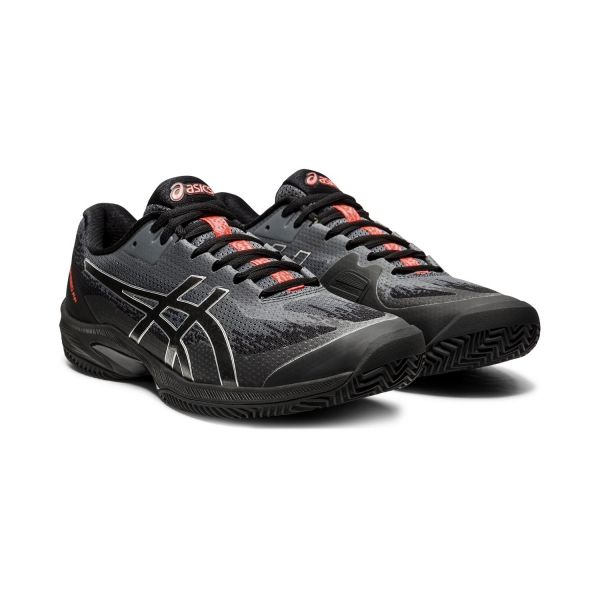 Asics Court Speed FF Clay L.E. - Black/Sunrise Red