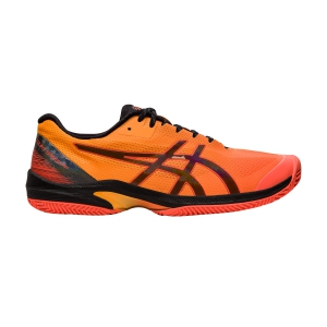 Men`s Tennis Shoes Asics Court Speed FF Clay Modern Tokyo  Flash Coral/Black 1041A156700