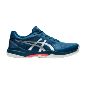 Men`s Tennis Shoes Asics Gel Game 7  Mako Blue/Pure Silver 1041A042402