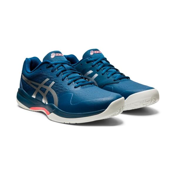 Senado confirmar Ganar  Asics Gel Game 7 Men's Tennis Shoes - Mako Blue/Pure Silver