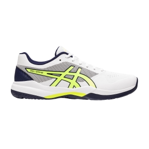 Calzado Tenis Hombre Asics Gel Game 7  White/Safety Yellow 1041A042106