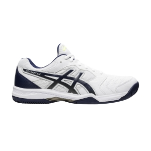 Men`s Tennis Shoes Asics Gel Dedicate 6 Clay  White/Peacoat 1041A080103