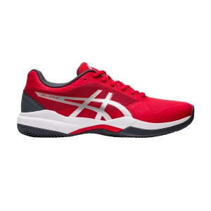 Calzado Tenis Hombre Asics Gel Game 7 Clay  Classic Red/Pure Silver 1041A046603