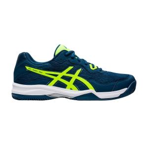 Padel Shoes Asics Gel Padel Pro 4  Mako Blue/Vibrant Yellow 1041A127400
