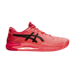 Scarpe Tennis Uomo Asics Gel Resolution 8 Clay Tokyo  Sunrise Red/Eclipse Black 1041A197701