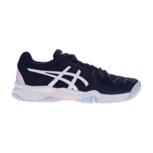 Junior Tennis Shoes Asics Gel Resolution 8 GS Girl  Peacoat/Cotton Candy 1044A018401
