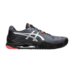 Calzado Tenis Hombre Asics Gel Resolution 8 L.E.  Black/Sunrise Red 1041A146010