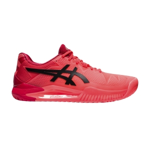 Scarpe Tennis Uomo Asics Gel Resolution 8 Tokyo  Sunrise Red/Eclipse Black 1041A185701