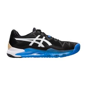 Calzado Tenis Hombre Asics Gel Resolution 8  Black/White 1041A079001