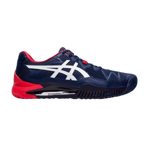 Men`s Tennis Shoes Asics Gel Resolution 8  Peacoat/White 1041A079400