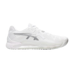 Asics Gel Resolution 8 - White/Pure Silver