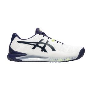 Men`s Tennis Shoes Asics Gel Resolution 8  White/Peacoat 1041A079102