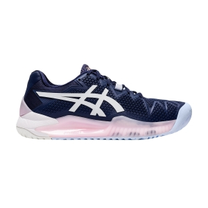Women`s Tennis Shoes Asics Gel Resolution 8  Peacoat/White 1042A072401
