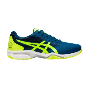 Padel Shoes Asics Gel Lima Padel 2  Mako Blue/Safety Yellow 1041A040408