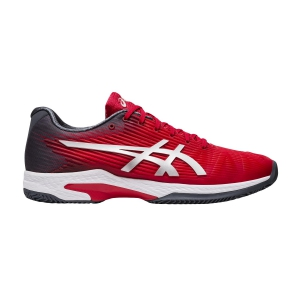 Men`s Tennis Shoes Asics Solution Speed FF Clay  Classic Red/Pure Silver 1041A004603