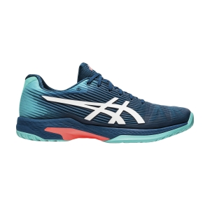 Calzado Tenis Hombre Asics Solution Speed FF  Mako Blue/White 1041A003407