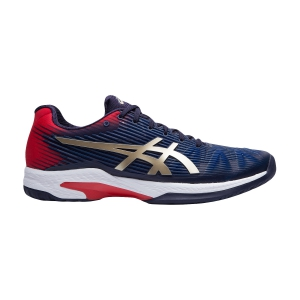Men`s Tennis Shoes Asics Solution Speed FF  Peacoat/Champagne 1041A003403