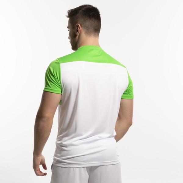 Australian Ace Block T-Shirt - Bianco/Kawasaki/Turchese