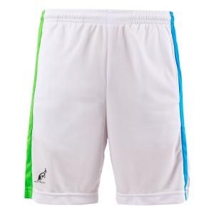 Men's Tennis Shorts Australian Ace Lines 7in Shorts  Bianco/Turchese/Kawasaki 75092002