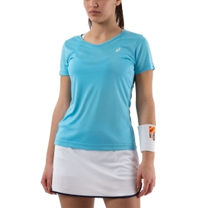 Women`s Tennis T-Shirts and Polos Australian Ace TShirt  Azzurro 76553490