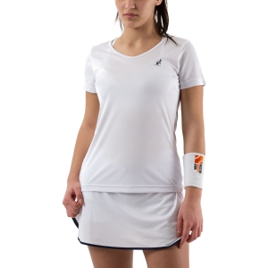 Women`s Tennis T-Shirts and Polos Australian Ace TShirt  Bianco 76553002