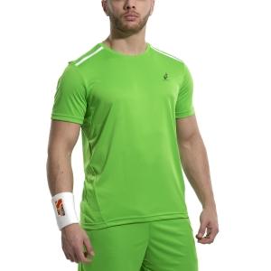 Maglietta Tennis Uomo Australian Ace Maglietta  Verde Kawasaki 78528316