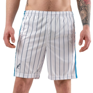 Pantalones Cortos Tenis Hombre Australian Ace Pinstripes 7in Shorts  Bianco/Ottanio/Blu 75086002