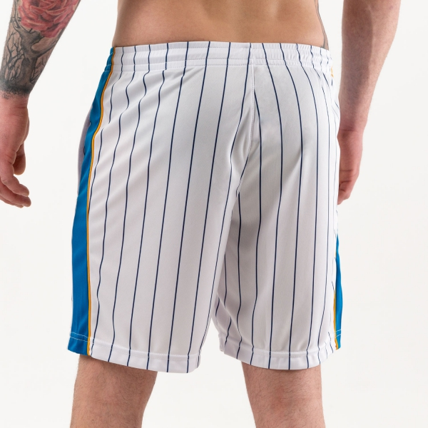 Australian Ace Pinstripes 7in Shorts - Bianco/Ottanio/Blu