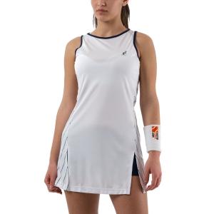 Tennis Dress Australian Ace Pinstripes Dress  Bianco/Blu 76416002