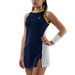 Vestitino Tennis Australian Ace Pinstripes Vestito  Blu Cosmo/Bianco 76416842