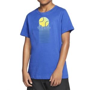 Polo y Camisetas de Tenis Australian Nino Ball Camiseta  Blu 77559ITA