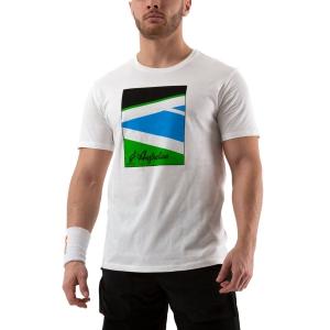 Men's Tennis Shirts Australian Court TShirt  Bianco 78592002
