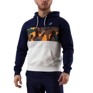 Men's Tennis Shirts and Hoodies Australian Interlock Hoodie  Bianco/Blu/Camo 88677842