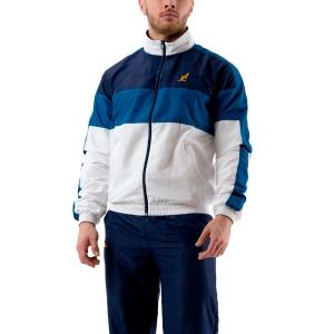 Men's Tennis Suit Australian Smash Tracksuit  Blu/Bianco 78949002