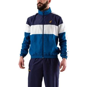 Men's Tennis Suit Australian Smash Tracksuit  Blu/Ottanio/Bianco 78949335
