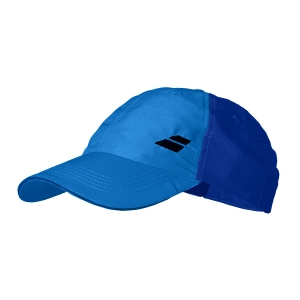 Tennis Hats and Visors Babolat Basic Logo Cap Junior  Blue Aster 5JA12214049